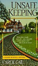 Unsafe Keeping by Carol Cail (1996, Paperback)