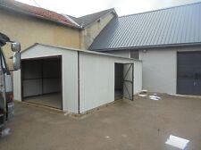 Garagen 4x5 Schuppe Blechgarage Garage Fertiggarage Metallgarage mit Seitentür