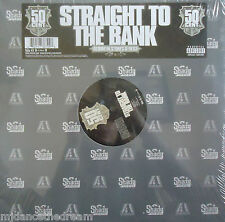 """50 CENT ~ Straight To The Bank ~ 12"""" Single PS USA PRESSING SEALED"""