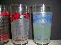 DERBY GLASSES (4) 2000,2001,2003,2005 DERBY GLASSES