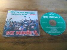 CD Punk Die Mimmi's - Deutscher Meister SVW Version 2004 (6 Song) WESER LABEL sc