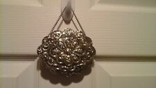 VINTAGE SIAM STERLING ,.900 SILVER REPOUSSE HANGING MIRROR, NICE, SEE PICTURE'S