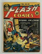Flash Comics #38 GD/VG 3.0 1943