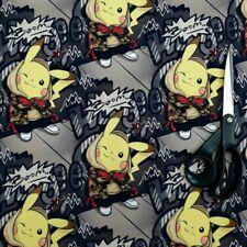 Pokemon Stoff JERSEY