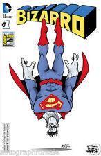 Bizarro 2015 San Diego Comic-Con SDCC exclusive variant cover #1 DC comic book