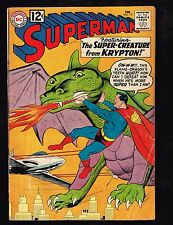 "Superman #151 ~ ""The Three Tough Teen-Agers!"" ~ (3.5) 1962 WH"