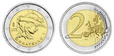 ITALIEN 2 EURO 550. TODESTAG VON DONATELLO 2016 bankfrisch