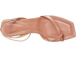 NEW Alexandre Birman Nelly NAPPA KISS Square Sandals Heels SHOES SZ EU 40 US 10