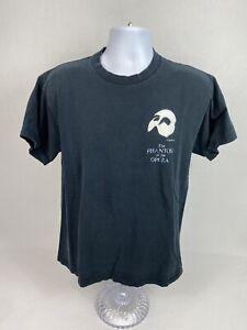 VTG 90's The Phantom Of The Opera Short Sleeve T-Shirt Size Large