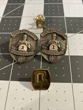 Vintage Roadway & National Safety Council Pin Bundle