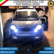 KIT FULL LED  FIAT PANDA CROSS ANABBAGLIANTI ABBAGLIANTI FENDINEBBIA 6000K