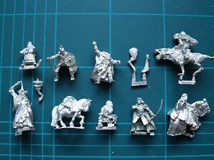 Broken / incomplete miniatures — Warhammer LOTR metal spares