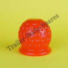 FREE UK Post - RED Dimple Towball Cover Cap fits Standard 50mm Trailer Towball