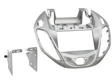 Radioeinbauset Doppel DIN Blende Adapter Ford B-Max JK8 silber