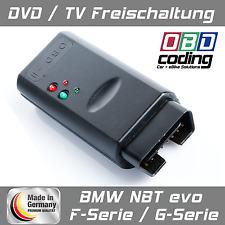 DVD / TV Freischaltung (VIM) für BMW NBT EVO F-Serie / G-Serie bis 255 km/h