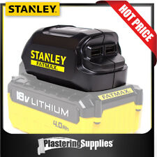 Stanley USB Charger Converts FATMAX 18v Li Batteries Into Chargers FMC698B
