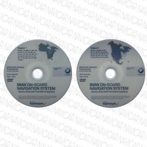 BMW CCC Professional US Navigation DVD Map Update Set E60 E90 E70 E63 E81 E87