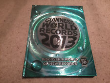 2013 Guinness World Records Hardback Book