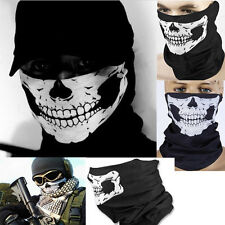 Sealmess Skeleton Ghost Skull Face Masks Bicycle Halloween Cosplay Costume