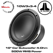 "JL Audio W3 10w3v3-4 10 ""pollici 25 cm 500 WATT 4 OHM CAR SUBWOOFER Sub 10W3"