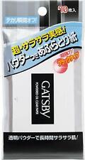 Made in JAPAN Mandom GATSBY Powder Oil Blotting Paper 70sheet / 10cm x 10cm
