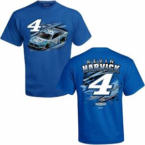 Kevin Harvick 2021 Checkered Flag Sports #4 Busch Light Fuel Tee FREE SHIP!