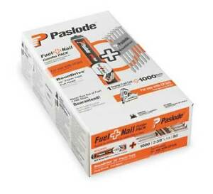 Paslode 650524 Fuel Cell Framing Nail,3 In,Pk1000