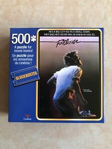 BLOCKBUSTER 500 PIECE FOOTLOOSE JIGSAW PUZZLE * BRAND NEW