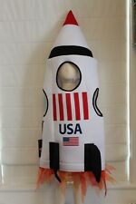 Space Shuttle Rocket Ship Astronaut Fly To The Moon Boutique Costume Kids NEW