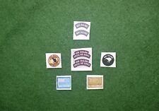 1/6 British New Zealand Special Air Service SAS Afghanistan/Iraq Patch set lotto