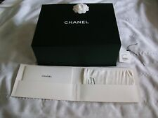 Large Chanel Magnetic Purse Empty Gift Box w/Dust Bag, Brochure,Tissue Paper
