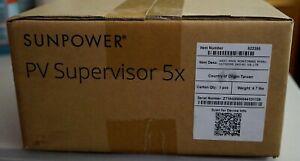 Sunpower PVS5 Supervisor 5x Main Monitoring System Solar Power 522350 240VAC