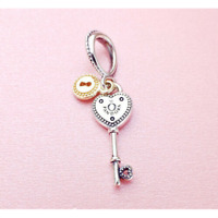 Authentic Pandora Key to My Heart Dangle Charm 796593 Valentine's Gift Jewelry