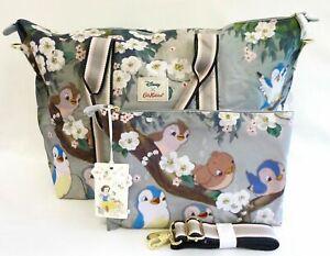 Cath Kidston Disney Snow White Travel Bag Overnight Foldaway Handbag Seven Dwarf