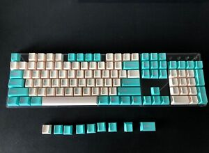 Tai-Hao Keycaps - ABS Doubleshot Cubic profile Blue