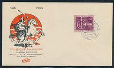 Ersttagsbrief-Briefmarken aus der BRD (1949-1959) mit Geschichts-Motiv