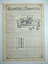 CALIFORNIA WINE Railroad Chair, Underwater Lamp, Snow Plow, Journal Article 1857