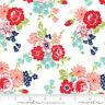 MODA Fabric ~ SMITTEN ~ by Bonnie & Camille (55171 17) Cream - by 1/2 yard
