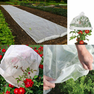 60gsm Frost Protection Fleece Horticultural Plant Garden Tree Warming Protection