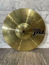 """More details for paiste pst3 splash 10""""/25cm splash cymbal / drum accessory"""