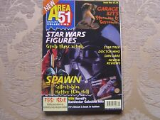 AREA 51 SCI-FI COLLECTING MAGAZINE NO. 1 VERY RARE OCTOBER 1997