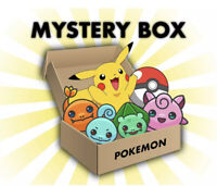 Pokemon Card Mystery Box Rare Cards/Coins/Pins/Holos Guaranteed 2016-2020