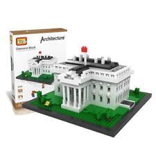 The White House Micro Building Blocks 1170pcs LOZ-9386 Toy Bricks w. Color Box