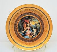 FRANKLIN MINT PLATE VATICAN MUSEUM BAROCCI THE REST DURING FLIGHT TO EGYPT