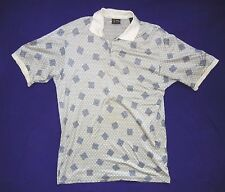 Vtg BOBBY JONES Made in Italy Collared GOLF SHIRT Polo Size Men's LARGE Nice!