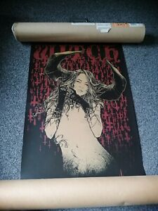 Godmachine.The witch (red) original, out of print.