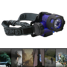 3W LED Headlamps Flashlight Head Torch Lights Outdoor Camping Hiking Fishing