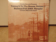 TAKING IT TO THE STREETS VOL 1 (CD)  2001!!  RARE!!  RAS KASS + PHAROAHE MONCH!!