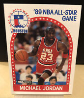 1989-90 NBA Hoops Michael Jordan 89 All-Star #21 Classic 90s Jordan Card HOF PSA