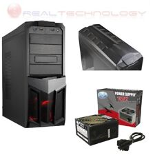 CASE PLANET GAMING ITEK ITGCI01 12CM RED FAN CON ALIMENTATORE 750W ATX IDE SATA